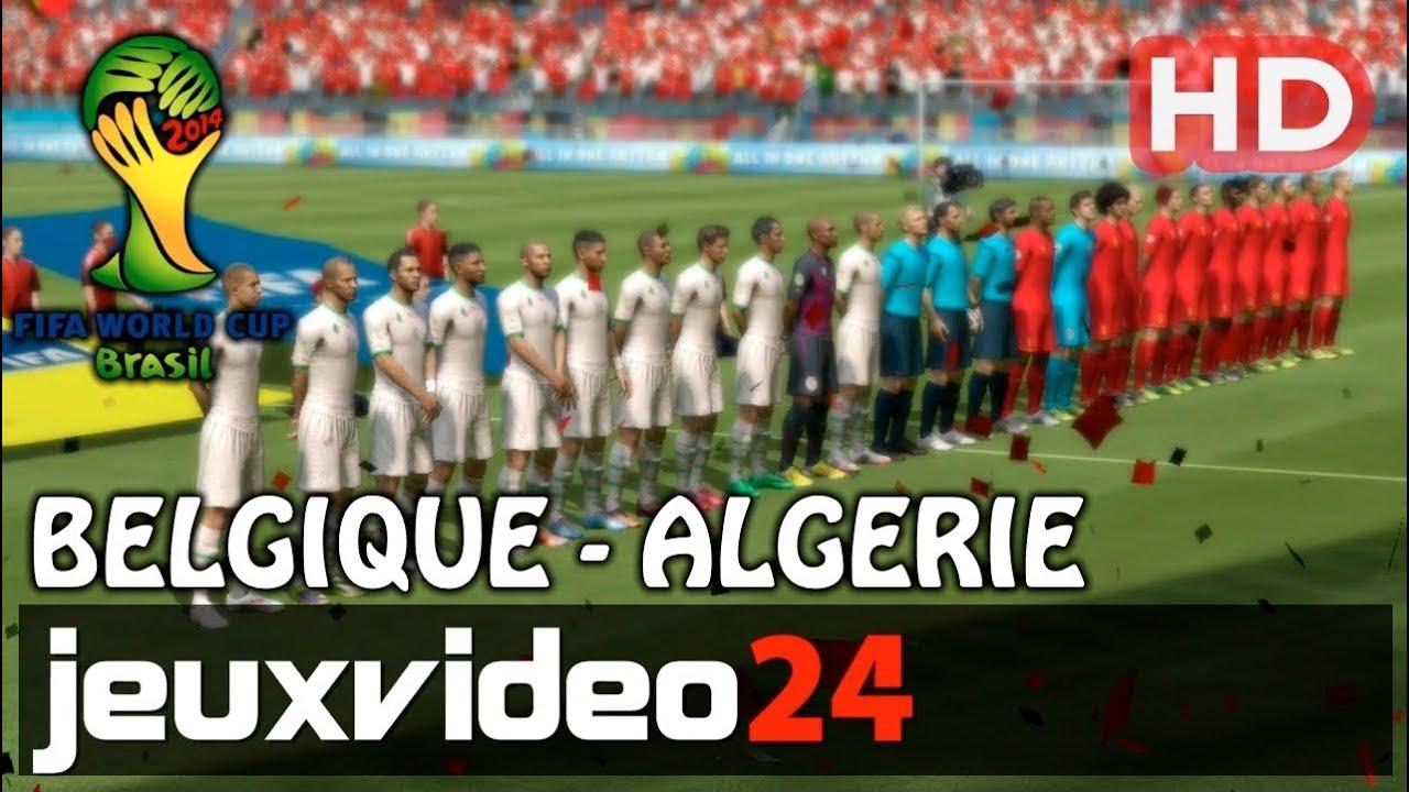 Coupe du monde fifa br sil 2014 belgique vs alg rie hd xbox 360 youtube - Algerie disqualifie coupe du monde ...