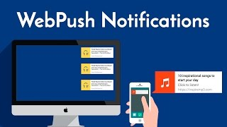 Notificaciones web Push (WebPush Notification) con Push.js