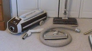 Vintage Electrolux Olympia One (1401) Canister Vacuum Cleaner