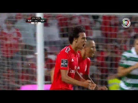 Goal | Golo João Felix: Benfica (1)-1 Sporting (Liga 18/19 #3)