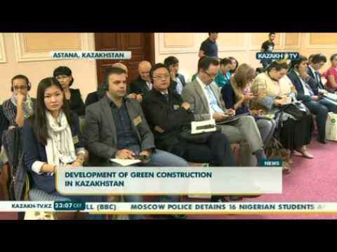 Development of green construction in Kazakhstan