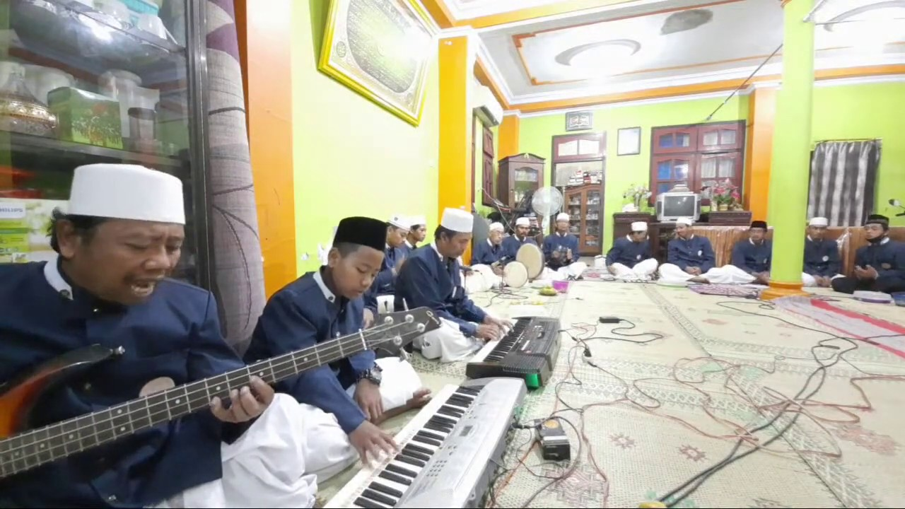 🔴[LIVE] Grup Sholawat Diba' Alhuda 5 juli 2020