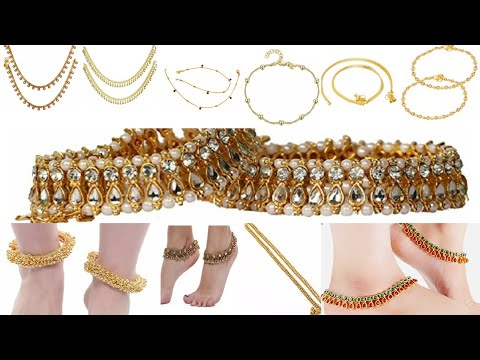 IMPON 1GM GOLD PLATED ANKLETS,WHATSAPP FOR ORDERS +919344576637 from YouTube · Duration:  43 seconds