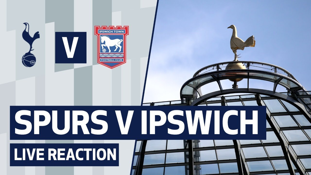 SPURS 3-0 IPSWICH TOWN | POST-MATCH REACTION