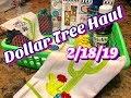 Dollar Tree Haul 2/18/19