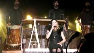 Madonna - Open Your Heart & Speech (MDNA, Nice 08.21.12)