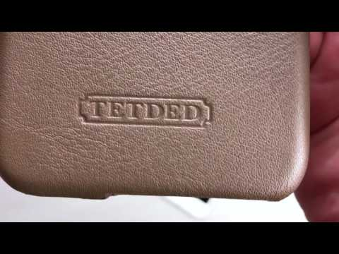 "TETDED Premium Leather Case for Apple iPhone 6S 4.7"" Back Case  (Prestige: Khaki) Unbox"