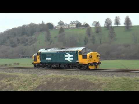 37025 `Inverness TMD` 0F75 @ Newton st Loe 27-02-16