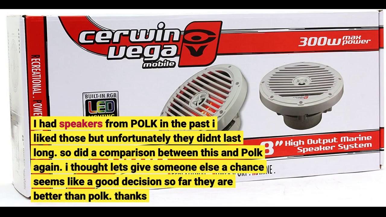Cerwin-Vega V465 Vega 6.5IN 2WAY Coax SPKR-Set of 2 15.00in Black x 8.10in x 4.30in.