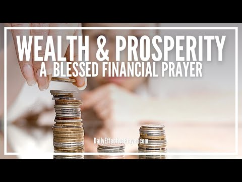 Prayer For Wealth and Prosperity   Powerful Financial Miracle Prayer