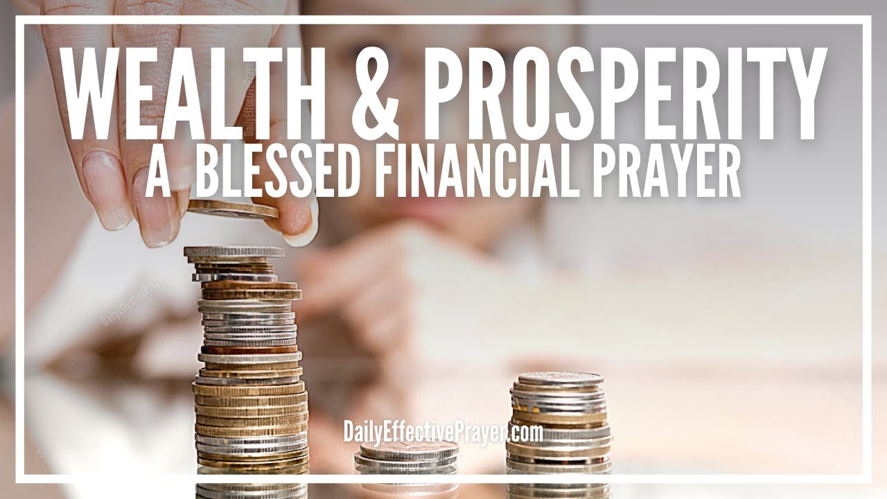 Prayer For Wealth and Prosperity | Powerful Financial Miracle Prayer