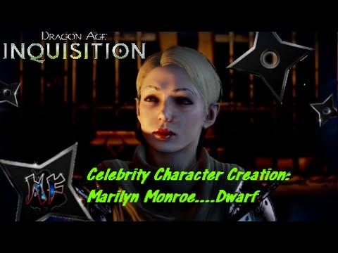 Dragon Age Inquisition | Celebrity Character Creation ...