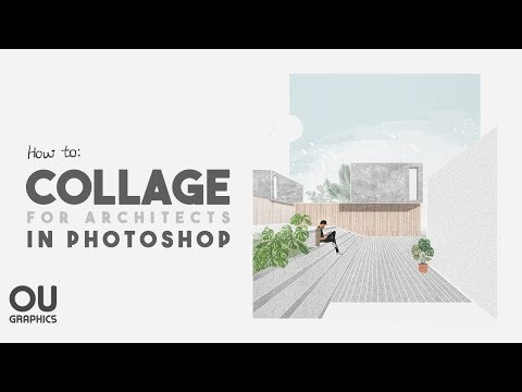How to COLLAGE in Architecture using Photoshop