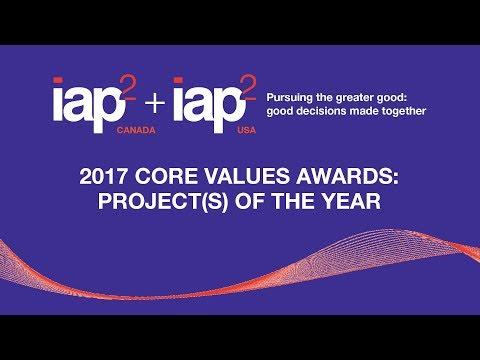 IAP2 November Webinar: 2017 Core Values Awards - Projects of the Year