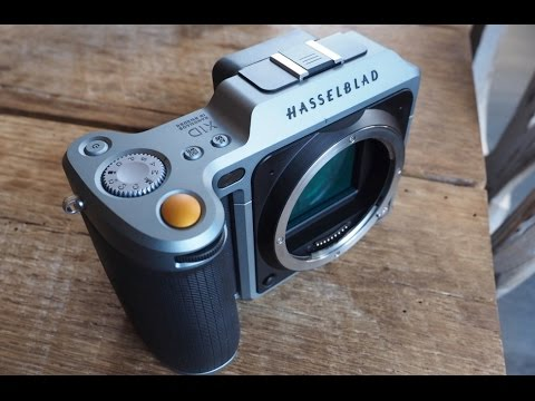 Hasselblad's X1D is a medium format mirrorless camera