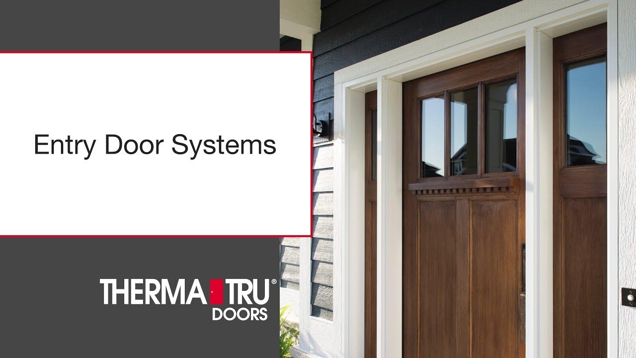 therma tru entry door systems