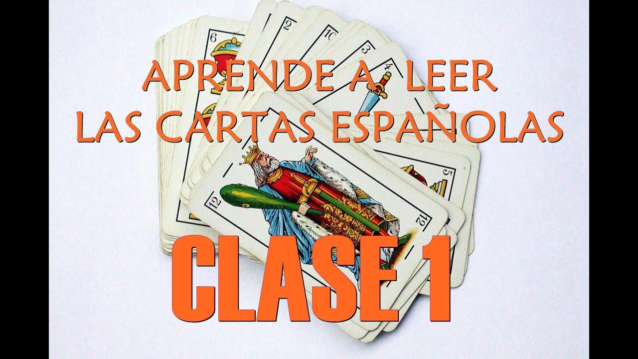 curso gratis y fÁcil de lectura de baraja espaÑola clase 1 youtube