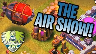 LavaLoon Techniques With Battle Blimp | Air Army 3 Star Attack TH12 Clash Of Clans