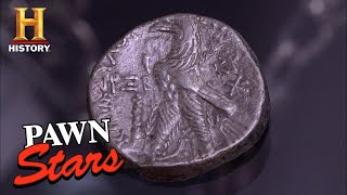 Pawn Stars: BIBLICAL COIN WITH A SECRET PAST (Season 7) | History