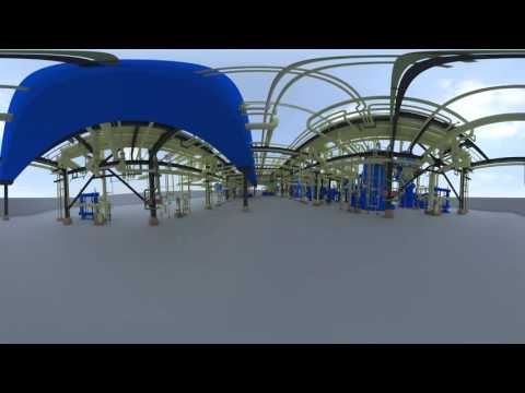 360 vr 3D Oil and gas plant