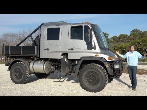 This Massive Unimog U500 Is the Ultimate Insane Mercedes Pickup Truck
