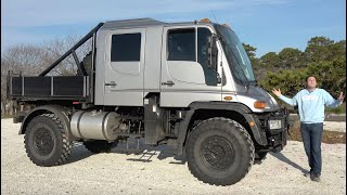 This Massive Unimog U500 Is the Ultimate Insane Mercedes Pickup Truck