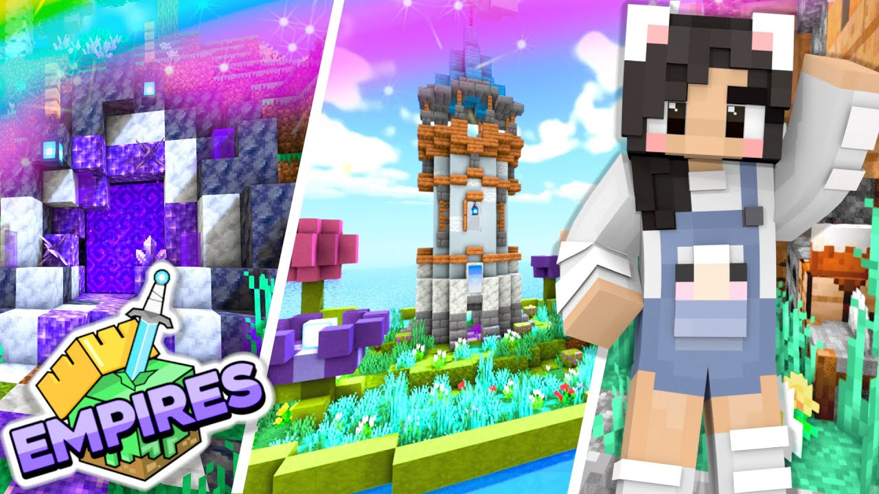 💙Pranks, Portals, + Lily Pads! Empires SMP Ep.11 [Minecraft 1.17 Let's Play]
