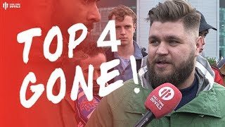 LOST TOP 4 TODAY.. Man Utd 1-1 Chelsea Howson & Abdullah Fan Cam