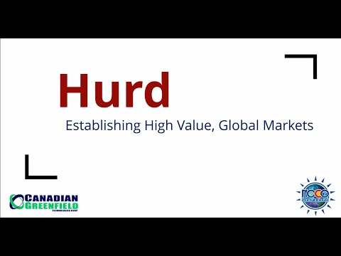 Hemp Hurd: Establishing High-Value, Global Markets