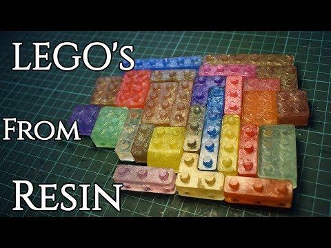Resin - Lego Bricks