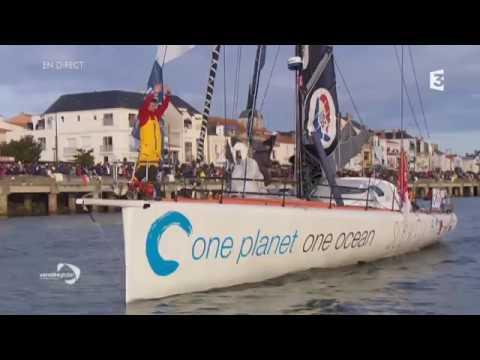 Vendée Globe 2016 : Voir ou revoir la descente du chenal par les 29 skippers