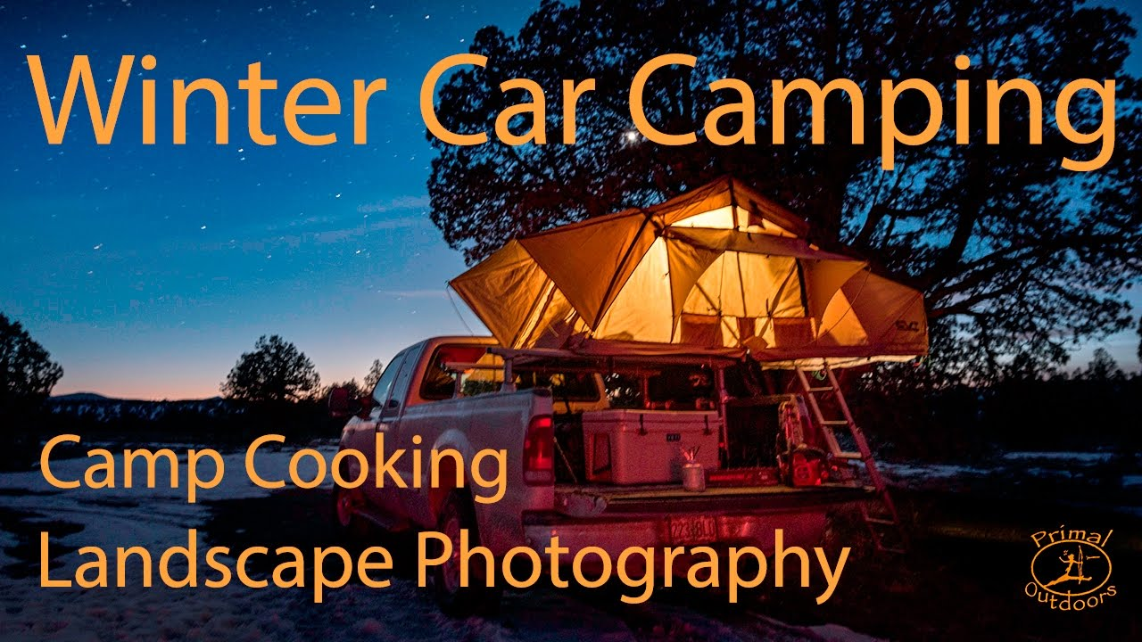 Winter Car Camping