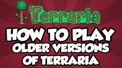 Terraria PC - How to play Older Versions of Terraria! (Terraria Update Downgrade Guide)