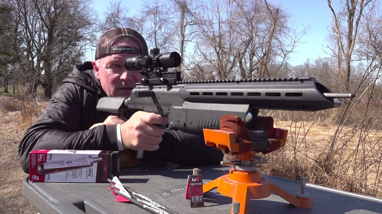 High powered adult airguns shot