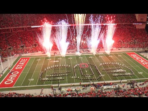 Superheroes and Villains - OSU Halftime Show vs. Nebraska