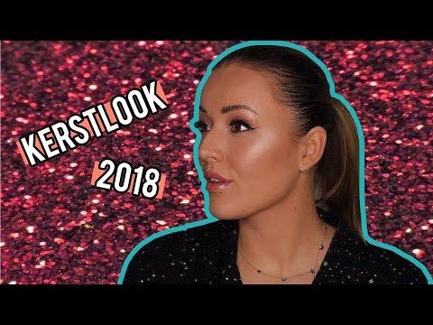 Kerst make-up look tutorial 2018 ❤ Laatste keer in dit huis! | Beautygloss