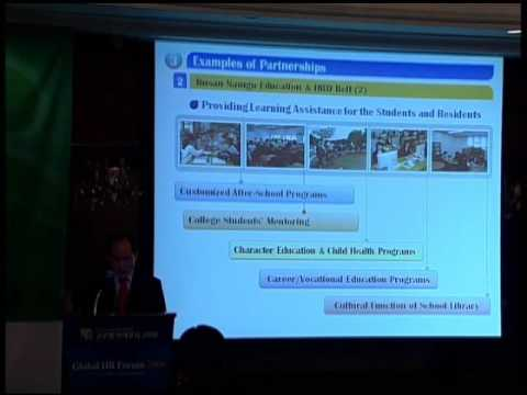 GHRF2008: Cooperation with the Community for Education Renovation
