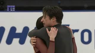 Tessa Virtue & Scott Moir. FD. NHK Trophy. CBC Commentary.