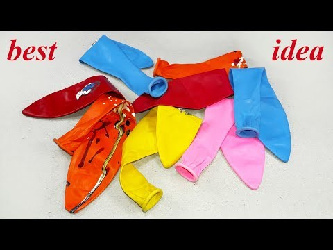 Best craft idea with balloons | DIY arts and crafts | unbelievably helpful DIY