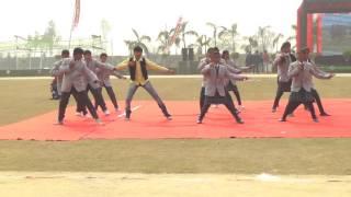 a m world school sports day english drama