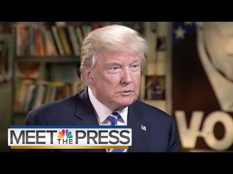 Donald Trump Talks Guns, Mental Illness, ISIS (Full Interview) | Meet The Press | NBC News
