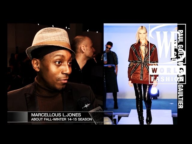 Marcellous L.Jones About Fall-Winter 14-15 Season