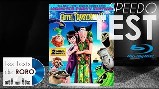 Hotel Transilvania 3 - Test Bluray DTS-HD Master audio