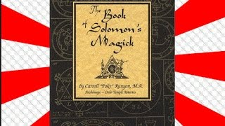 The most effective Goetia evocation ever published! -The Book of Solomon's Magick