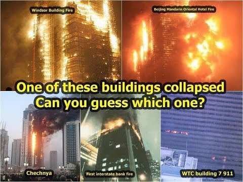 WTC 7 Did Not Collapse from Fire - Dr  Leroy Hulsey, UAF, Sept  6, 2017