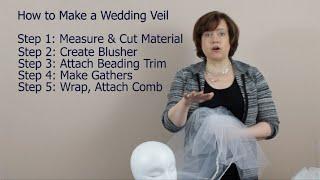 How to Make a Wedding Veil: 5 Steps Summary