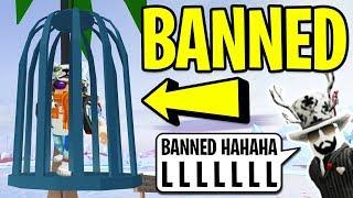 ASIMO BANNED ME in Roblox Jailbreak!   Roblox Jailbreak Winter Update