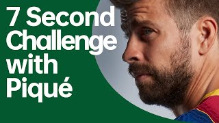 7 Second Challenge with Piqué | OPPO x FC Barcelona