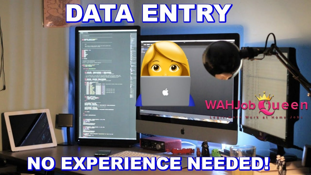 ONLINE DATA ENTRY WORK AT HOME JOB - NO EXPERIENCE NEEDED