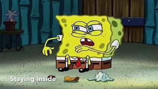COVID-19 Portrayed by SpongeBob
